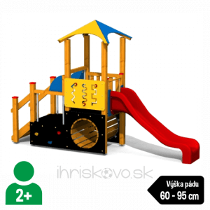 Herná zostava s tunelom – Typ B