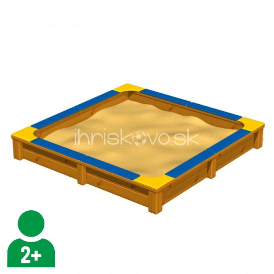 Drevené pieskovisko - Typ B