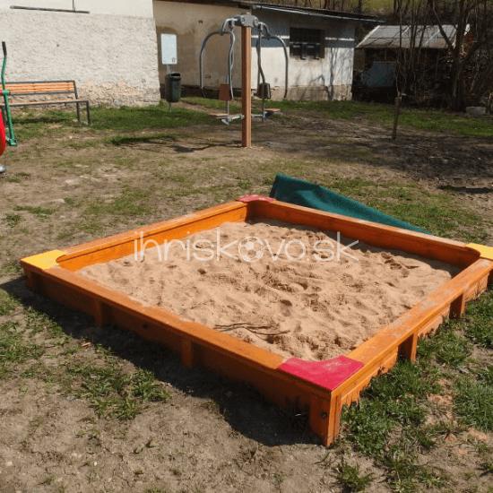 Drevené pieskovisko – Typ B