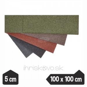 Dopadové dosky – hrúbka 5 cm – 100 x 100 cm