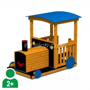 Vláčik drevený