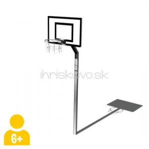 Prehadzovadlo v tvare basketbalového koša