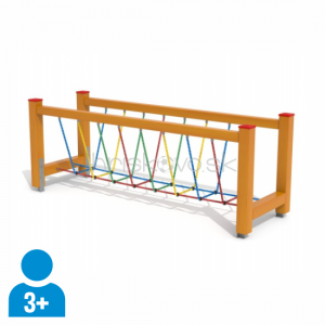 Balančný lanový rebrík