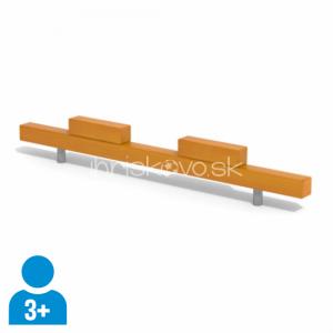 Kladina so schodíkmi (dĺžka 2 m)