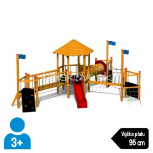 Multifunkčná herná zostava s vežičkou