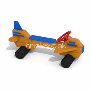 Lavička s volantom - Lietadielko
