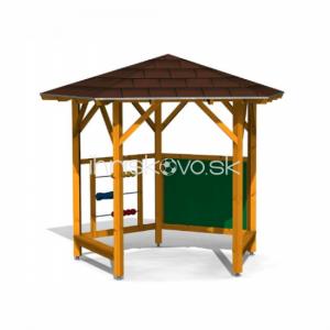 Päťboký školský altánok