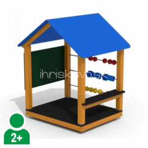 Herný domček s počítadlom a kockami