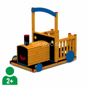 Vláčik kabriolet drevený