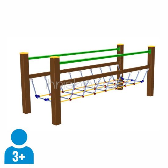 Celokovový lanový most